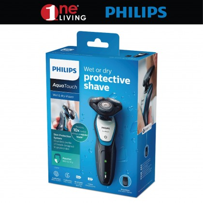 Philips AquaTouch Wet & Dry Electric Shaver S5070/04