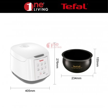 Tefal 1.8L Fuzzy Logic Jar Rice Cooker RK7321