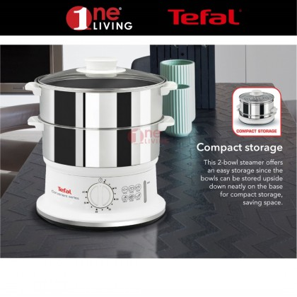 [Online Exclusive Bundle] Tefal Easy Fry Precision Digital 4.2L Air Fryer EY401 + Tefal Convenient Steamer Stainless Steel VC1451