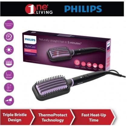 Philips StyleCare Essential Heated Straightening Brush BHH880/03
