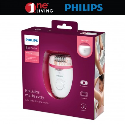 Philips Satinelle Essential Corded compact Epilator BRE255/00